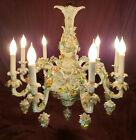 Dresden 9-arm Meissen-style chandelier