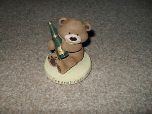 Congratulation bear ornament