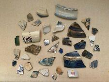 British Antiquities River Finds Broken Pottery Ceramics. Craft, Art