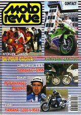 MOTO REVUE 2976 KAWASAKI ZXR 750 YAMAHA 1200 Vmax FJ BMW K100 RS ABS DAKAR 1991