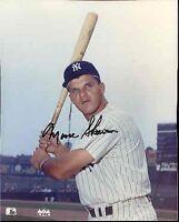 Moose Skowron Autograph Yankees 8x10 Photo Jsa Psadna Authentic