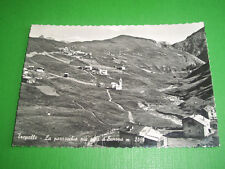 Cartolina Trepalle - La Parrocchia più alta d' Europa 1950 ca