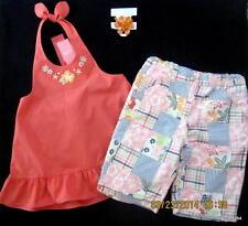 Gymboree Spring Summer 19 pc Lot Sets 9 Tops Shirts Shorts Skirt Hair Sets