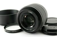 [MINT] Panasonic Lumix G Lens 25mm F1.7 ASPH Mirrorless Micro Four Thirds w/hood