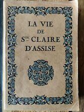 La Vie De Sainte Claire D'Assise / Camille Mauclair (1924)