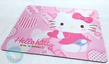SANRIO HELLO KITTY KAWAII Computer Mouse Pad Optical & Ball type Dual Use OK