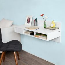 SoBuy® Wall-mounted Computer Table Desk, Home Office Desk Workstation,FWT30-W,UK