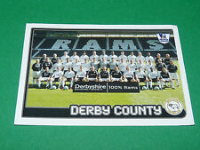 N°207 TEAM DERBY COUNTY ENGLAND MERLIN PREMIER LEAGUE FOOTBALL 2007-2008 PANINI