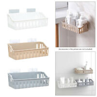 Kitchen Shower Room Wall Mounted Bathroom Shelf Organizer Shampoo Storage Rack