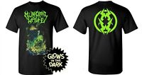 MUNICIPAL WASTE cd lgo ZOMBIE SHARK Official Glow in the Dark SHIRT 2XL New