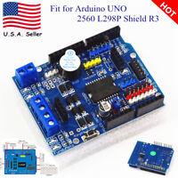 New DC Motor Driver Module 2A H-Bridge 2 way For Arduino UNO 2560 L298P Shield R