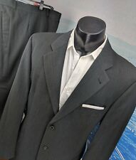 Hugo Boss Mens 2pc Suit Gray/Olive 44L Tataglia