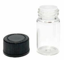 Clear Glass Bottles Essential Oils, aromatics, production vials.