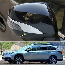Chrome Rearview Side Mirror Cover Trim Strip Fit for Subaru Outback 2015