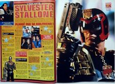 SYLVESTER STALLONE  => 2 pages French 1995 CLIPPING // COUPURE DE PRESSE