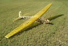 FOX BUZZARD 144 PLANS WITH PARTS PATTERNS to Build Duke Fox's 12-Foot RC Glider