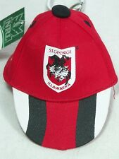 NRL Official Licensed Cap Key Ring St.George Dragons 4895014843400 NEW w Tag