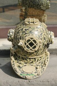 Nautical Antique Mark V US Navy Diving Helmet Replica