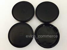 Wheel Centre Caps Center Hub Caps Black 55mm/50mm for Alloy Wheels Set 4pcs