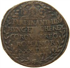 AUSTRIA JETON FERDINAND III. CORONATION REGENSBURG 1636 #s22 391