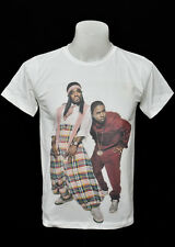 White crew t-shirt Outkast hiphop soul soul funk rock cotton CL tee size M