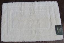 Lauren Ralph Lauren Bath Rug, Cream color, 17x27 in