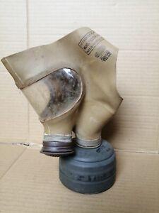 Gasmaske Italien PC 38 sehr selten Beutestück Wehrmacht 2Weltkrieg