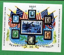 1975 Burkina Faso Postage Stamp Souvenir Sheet #358 Mint American Bicentennial