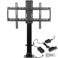 """TV Lift Mechanism 110V for 37-65"""" Automatical lift Stand Mount with Remote"""
