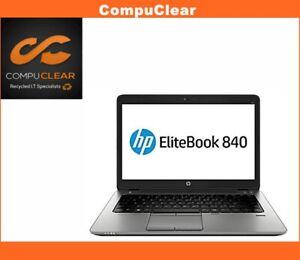 "HP EliteBook 840 G1 14"" Laptop - i5-4300u 1.90Hz 8GB RAM 240GB SSD Win 10"