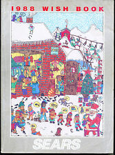 1988 WISH BOOK SEARS CHRISTMAS CATALOG