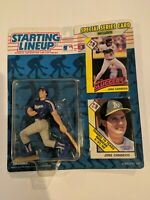 1993 JOSE CANSECO first Texas Rangers NM #33 * FREE s/h * Starting Lineup