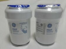 2 NEW FACTORY SEALED GE OEM MWF REFRIGERATOR WATER FILTERS MADE IN THE USA
