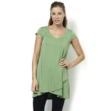 Join Clothes Cap Sleeve Jersey V Neck Crossover Hem Tunic XL BNWT RRP £82 Thyme