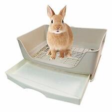 Large Rabbit Litter Box Drawer Corner Toilet Box Bigger Pet Pan