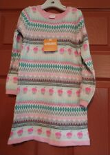 Gymboree girls ice dancer Sweater dress size 3t nwt