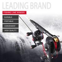 Aluminum Fishing Line Winder Baitcasting Reel Spool Spooler Two-Way Winding  √