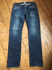 PRPS Heavy Distressed Blue Denim Jeans Made in Japan 34 x 34