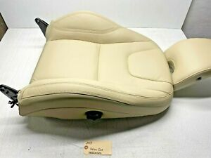 2011-2015 VOLVO S60 RIGHT PASSENGER FRONT SEAT UPPER CUSHION AIRBAG TAN LEATHER