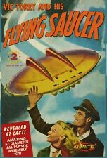 Vic Torry and his Flying Saucer 5 inch model w/light Atlantis Toy and Hobby