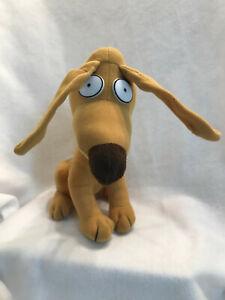 Nickelodeon Spike Dog Rugrats Movie 12.5 Stuffed Plush Animal Toy Applause 1996