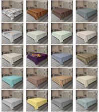 Ambesonne Tribal Flat Sheet Top Sheet Decorative Bedding 6 Sizes