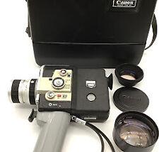CANON AUTO ZOOM 518 SUPER 8 Movie Camera With Case #100014