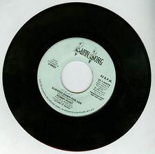 Robert Plant Burning Down One Side PROMO 7'' Vinyl Record Led Zeppelin