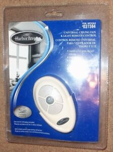 Harbor Breeze Universal Ceiling Fan & Light Remote Control Model 031594 NEW NIP