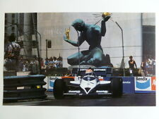 1985 Parmalat Formula 1 Race Car Print Picture Poster RARE!! Awesome L@@K