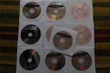 10 CDG LOT HARD ROCK/COUNTRY KARAOKE-BOB SEGER,JOUNEY,LENA HORNE CD+G 20e