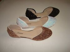 Women Fashion New Glitter Cute Style Comfort Ballet Flat shoes (HALLOWEEN SALE)