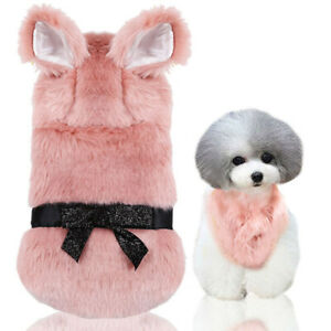Pet Velvet Cloth Sweater Cat Dog Apparel Coat Jacket Puppy Costume Jumpsuit NW