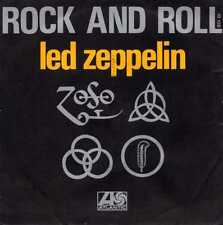 "LED ZEPPELIN ""ROCK AND ROLL"" ORIG FR 1971 VG++"